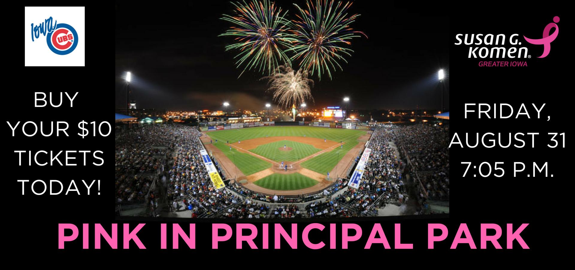 Pink in Principal Park